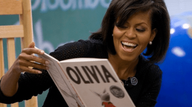 Michelle Obama will read to young kids every Monday through May 11th.