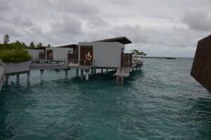 over water vila