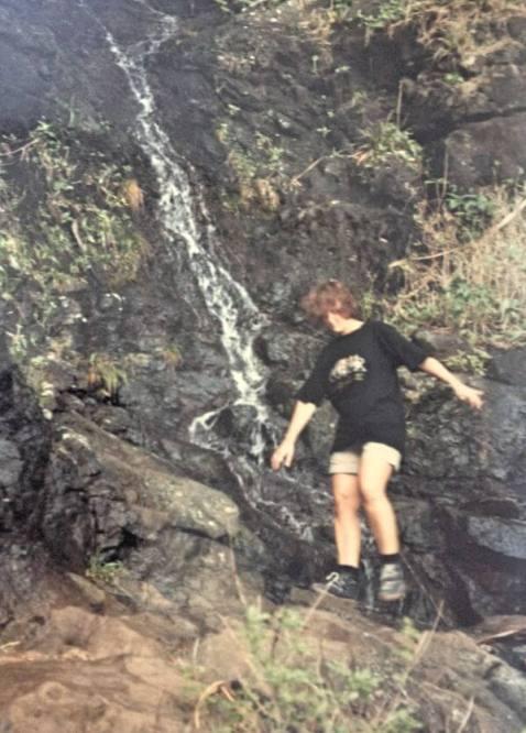 Wasserfall Hawaii
