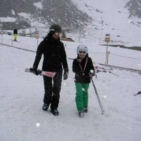 Skifahren Heike & Barfin