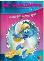 SCHLÜMPFE-Glitzermalbuch