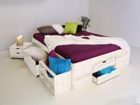 eBay - Bett mit Stauraum