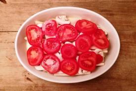 Spargel Champignons Tomaten