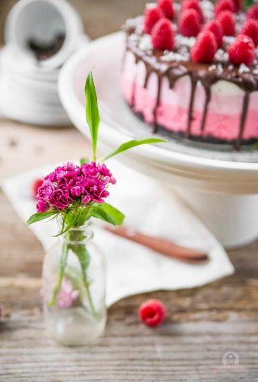 Raspberry Ombre Cake