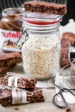 Nutella Breakfast Bars