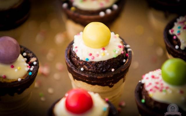Mini-Muffins im Waffelbecher – Kinderaugen zum Leuchten bringen…