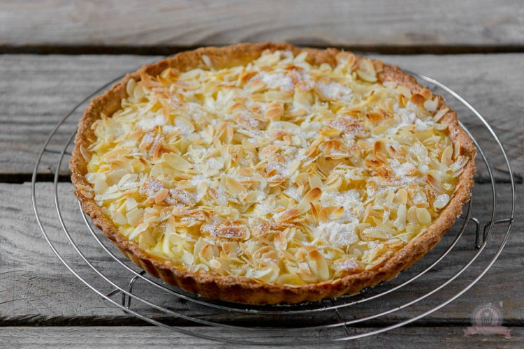 Apfel-Mascarponen-Tarte mit Mandeln