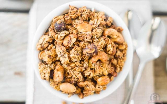 Banana Bread Granola – gesund, knusprig und ultimativ lecker…