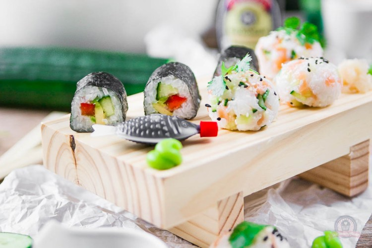 Sushi selbstgemacht mit [Sponsored Giveaway Aktion]