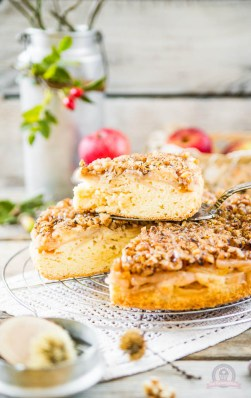 Apfel-Walnuss Kuchen