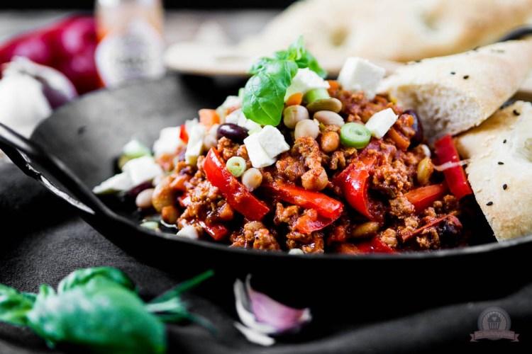 Kichererbsen Chili con Carne – etwas Soulfood für die kalte Jahreszeit…