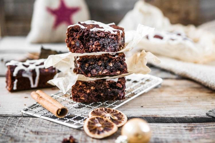Lebkuchen Brownies – zu Gast bei Law of Baking