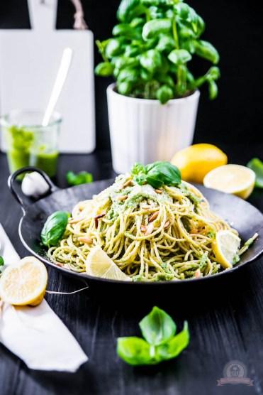 Basilikum Lemon Pasta 3
