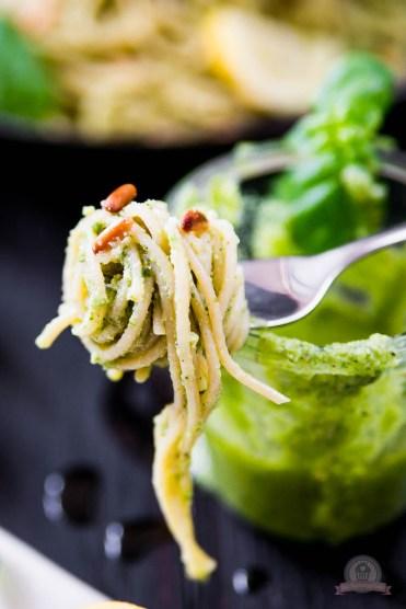 Basilikum Lemon Pasta 4