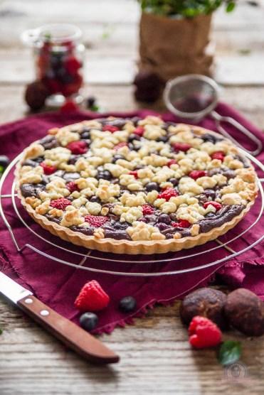 Brownie Cookie Tarte