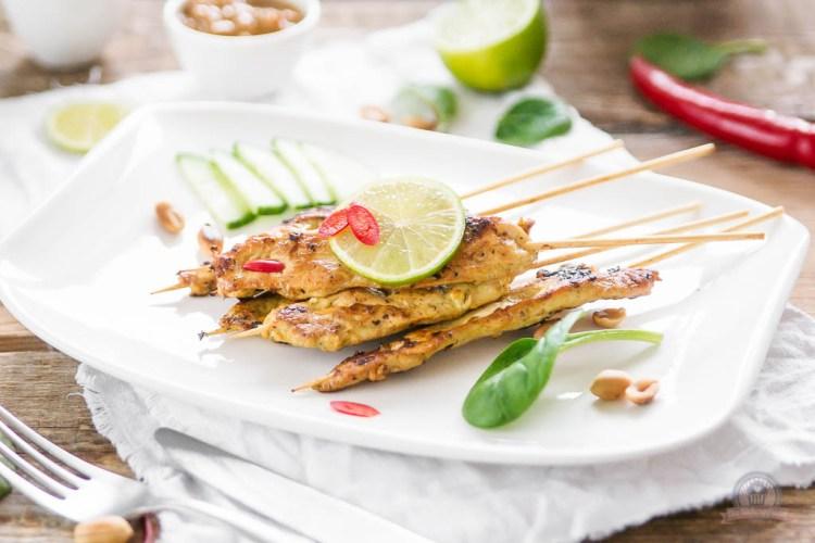 Chicken Satay – Eine kulinarische Entdeckungsreise {Thailand}