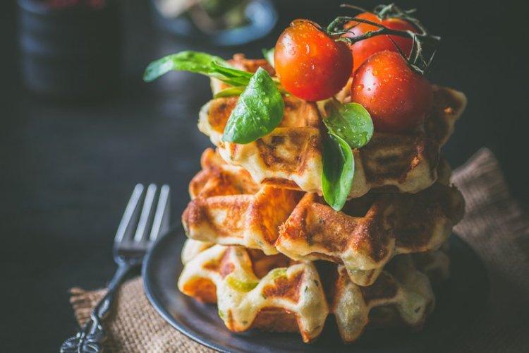 Spargel-Käse-Waffeln – ein Gast zum Waffelsonntag {Photolixieous}