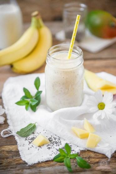 Mango-Bananen Smoothie