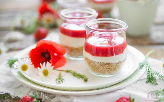 Strawberry Cheesecake – ohne backen, schnell gemacht…