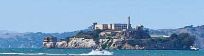 Vancouver, San Francisco, Los Angeles: Die Route führte auch an Alcatraz Island vorbei