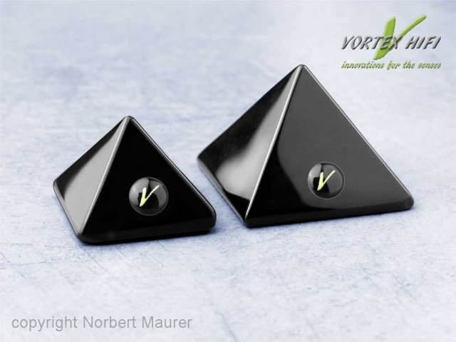 Vortex HiFi A.I.O. Entstör-Pyramieden 30 und 40 zur Entstörung und Entstressung