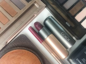 KIKO Milano Everlasting Colour precision lip loner 416 and Velvet Passion matte lipstick 318