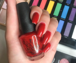 OPI- The Spy Who Loved Me