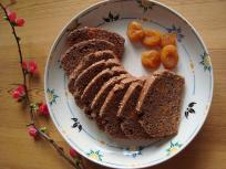 glutenvrije kruidkoek met abrikozenstukjes