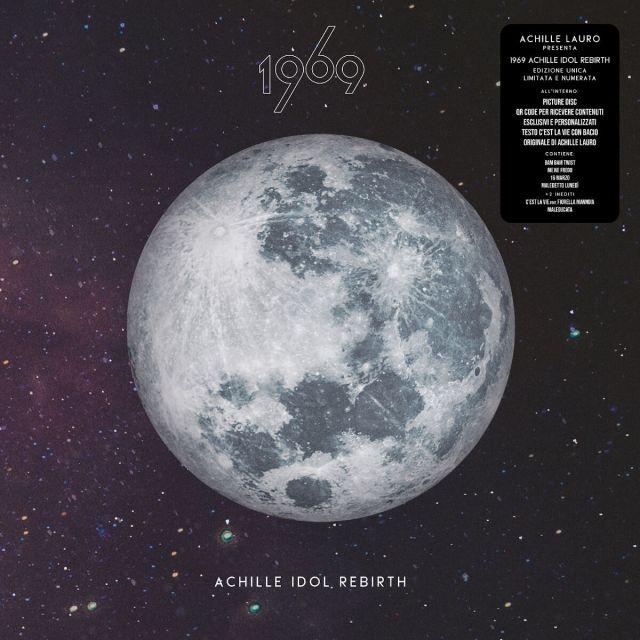 achille lauro Cover 1969 Achille Idol Rebirth VINILE