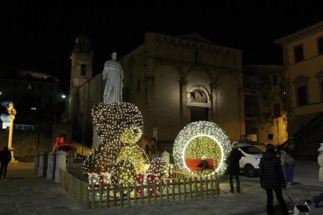 Teddy Bear allestimento Natale Pietrasanta