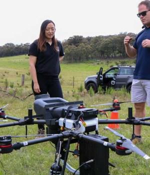 Andrew Walker, fondatore e Ceo di AirSeed Technologies credits WWF Australia- Paul Fahy