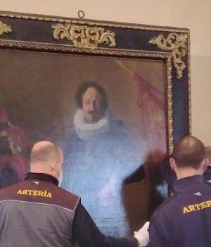 Riallestimento de Il Gonfaloniere di Artemisia Gentileschi