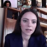 Francesca Michielin e Fedez conferenza stampa su Zoom 15 febbraio 2021