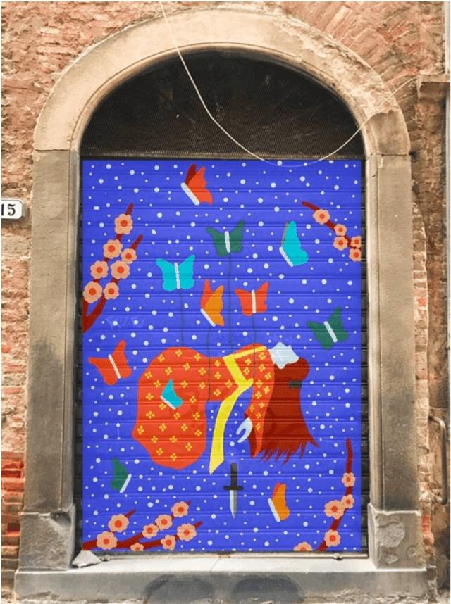 lucca street art 1