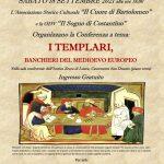 conferenza i templari banchieri del medioevo europeo