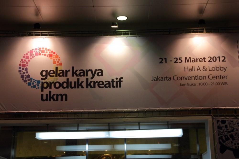 Gelar Karya Produk Kreatif UKM 2012, 21-25 Maret 2012 (1/6)