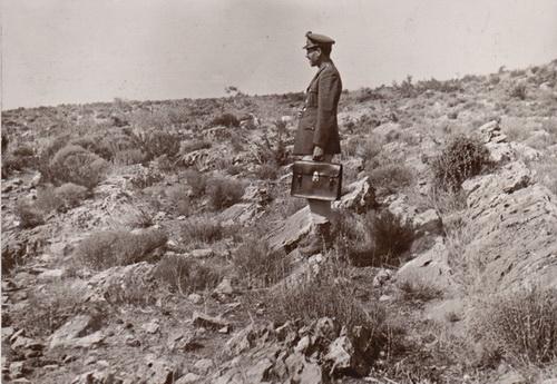 Ο δασοφύλακας Κορωπίου επί το έργον, 1966 (από το αρχείο του συγγραφέα)