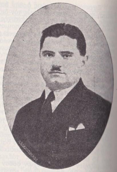 Ο Πέτρος Μαρκόπουλος το 1929