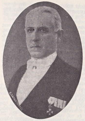 Ο Γενικός Επιθεωρητής Δασών, Μιχαήλ Δαβερώνης, το 1929. Ένας εκ των δυο δασολόγων που δολοφόνησε ο δασοκόμος Παναγιώτης Μαρίνος