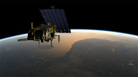 To Atlantis λαμβάνει και επεξεργάζεται δορυφορικά δεδομένα της NASA και της Eumetsat   (Φωτογραφία:  ESA )