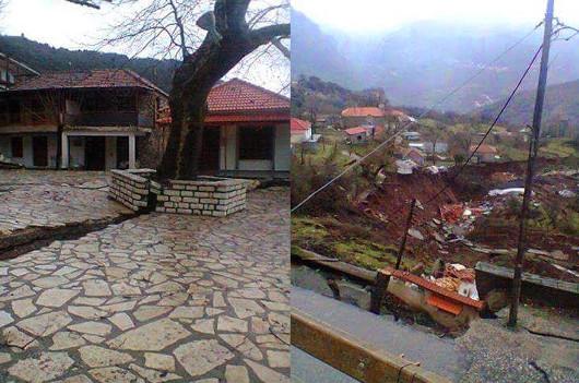 Κλεπά, ένα χωριό με ιστορία τουλάχιστον 500 χρόνων καταστράφηκε ολοσχερώς (φωτο από konstantinosdavanelos.blogspot )