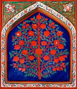 shaki_khan_palace_interier