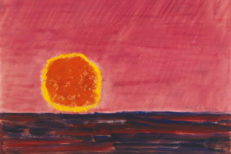 Milton Avery RINGED SUN
