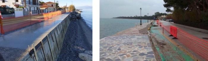 Εργασίες αποκατάστασης του περιβάλλοντος στις ακτές της Κορινθίας