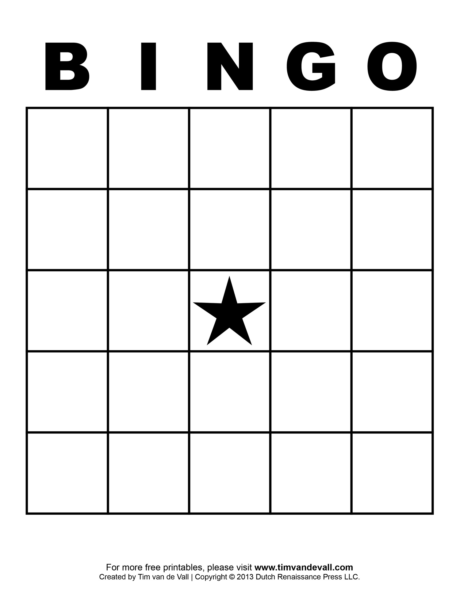 5x5 Bingo