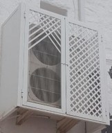 Cubierta aire acondicionado