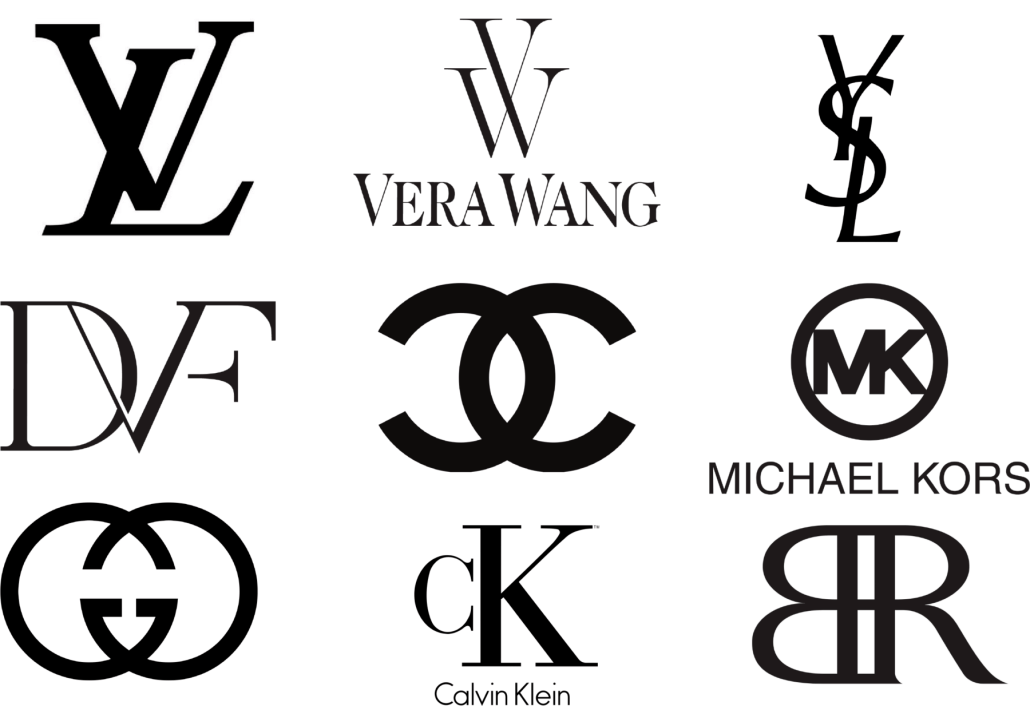 Monogramas famosos en logos de marcas con letras iniciales