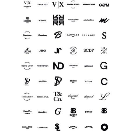 Plantillas de logos tipo monograma para descargar.