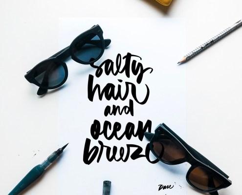 Havaianas Caligrafia Dase Marc Álvarez Artist Graphic Designer Illustrator Muralist Calligrapher Lettering
