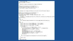 Quellcode NSA
